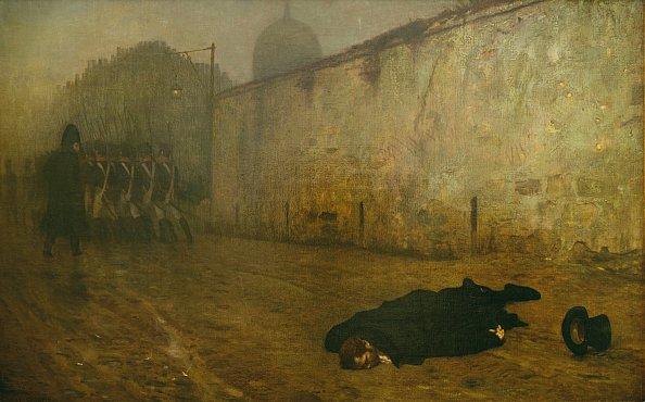 La_Mort_du_Maréchal_Ney_(1868)