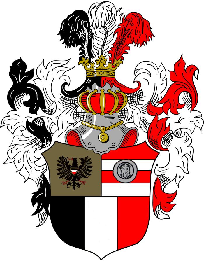 VDSt Aachen Breslau II Prunkwappen