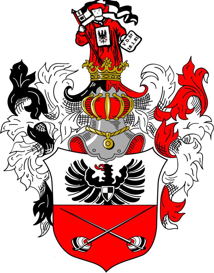 VDSt Berlin Prunkwappen