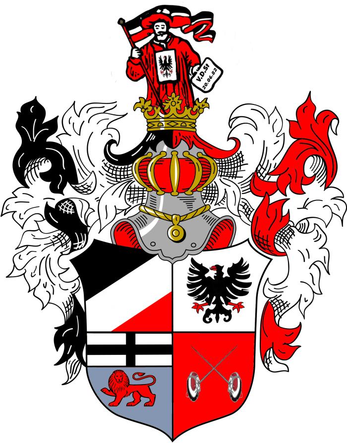 VDSt  Bonn Prunkwappen