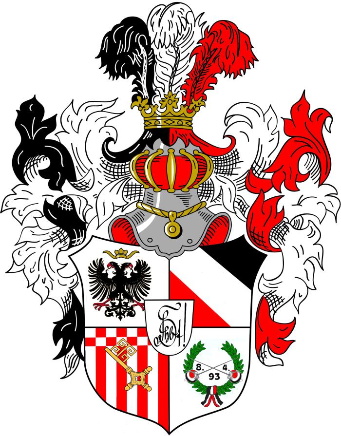 VDSt Bremen Prunkwappen