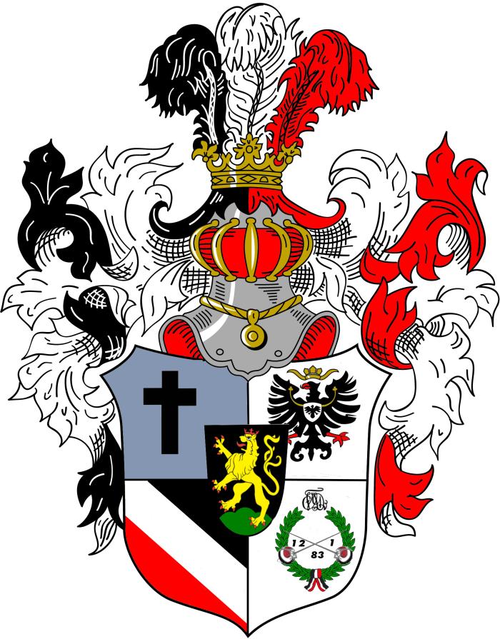 VDSt Heidelberg Prunkwappen