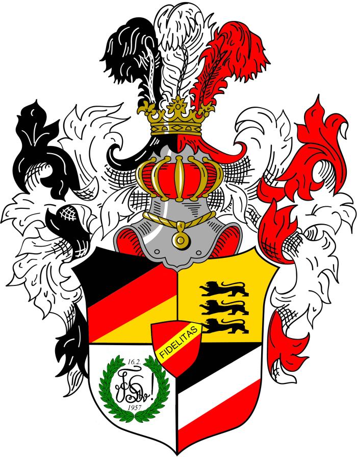 VDSt Karlsruhe Prunkwappen