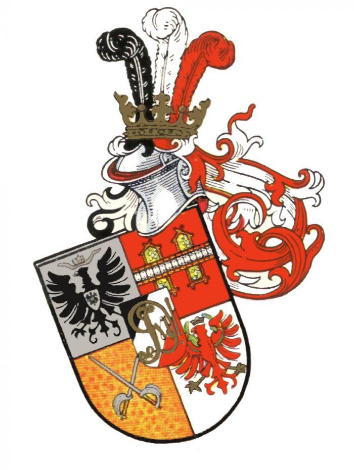 Wappen VDSt Innsbruck restauriert